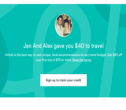 Airbnb how to get the 40 off for the first