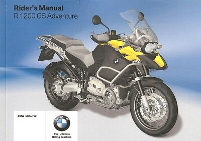 2009 bmw r1200gs owners manual