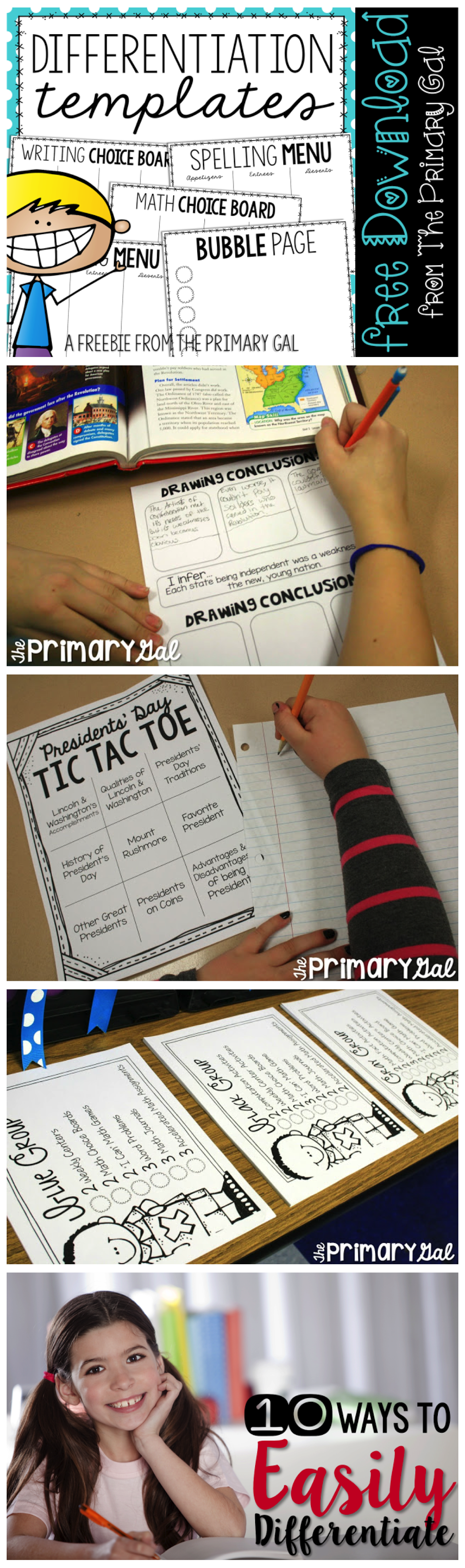 Differentiated reading instruction strategies for the primary grades