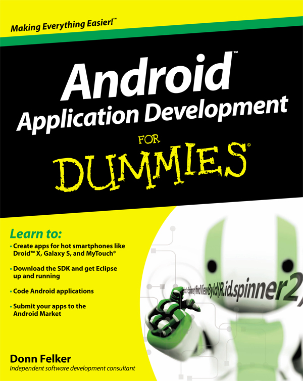 Android app development for dummies 5th edition pdf