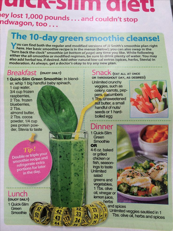Jj smith green smoothie recipe pdf