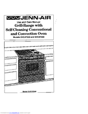 Jenn air convection oven manual