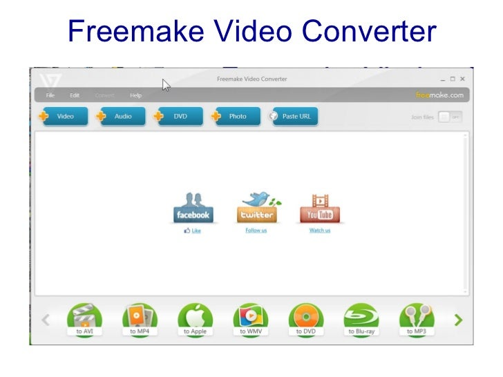 freemake video converter instructions