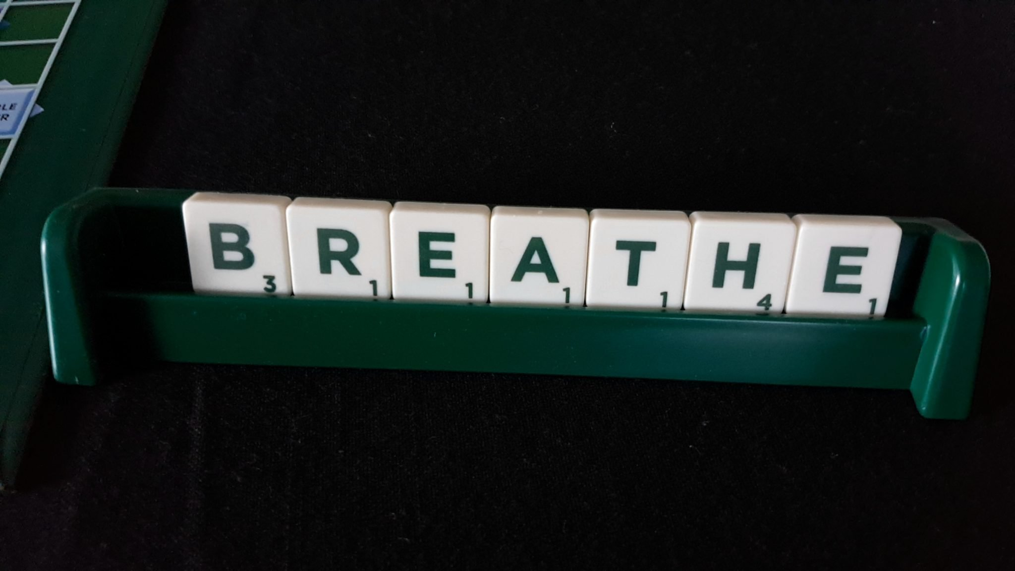 my first scrabble instructions