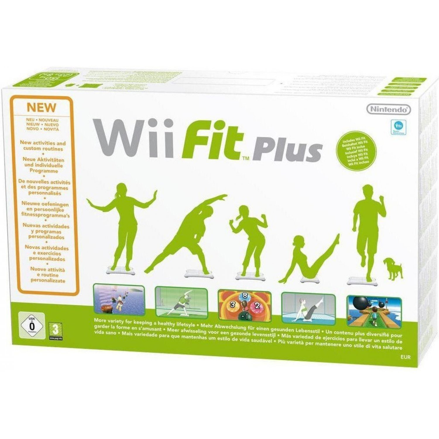 wii fit plus instructions in english