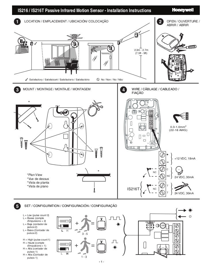 motion sensor light wiring instructions