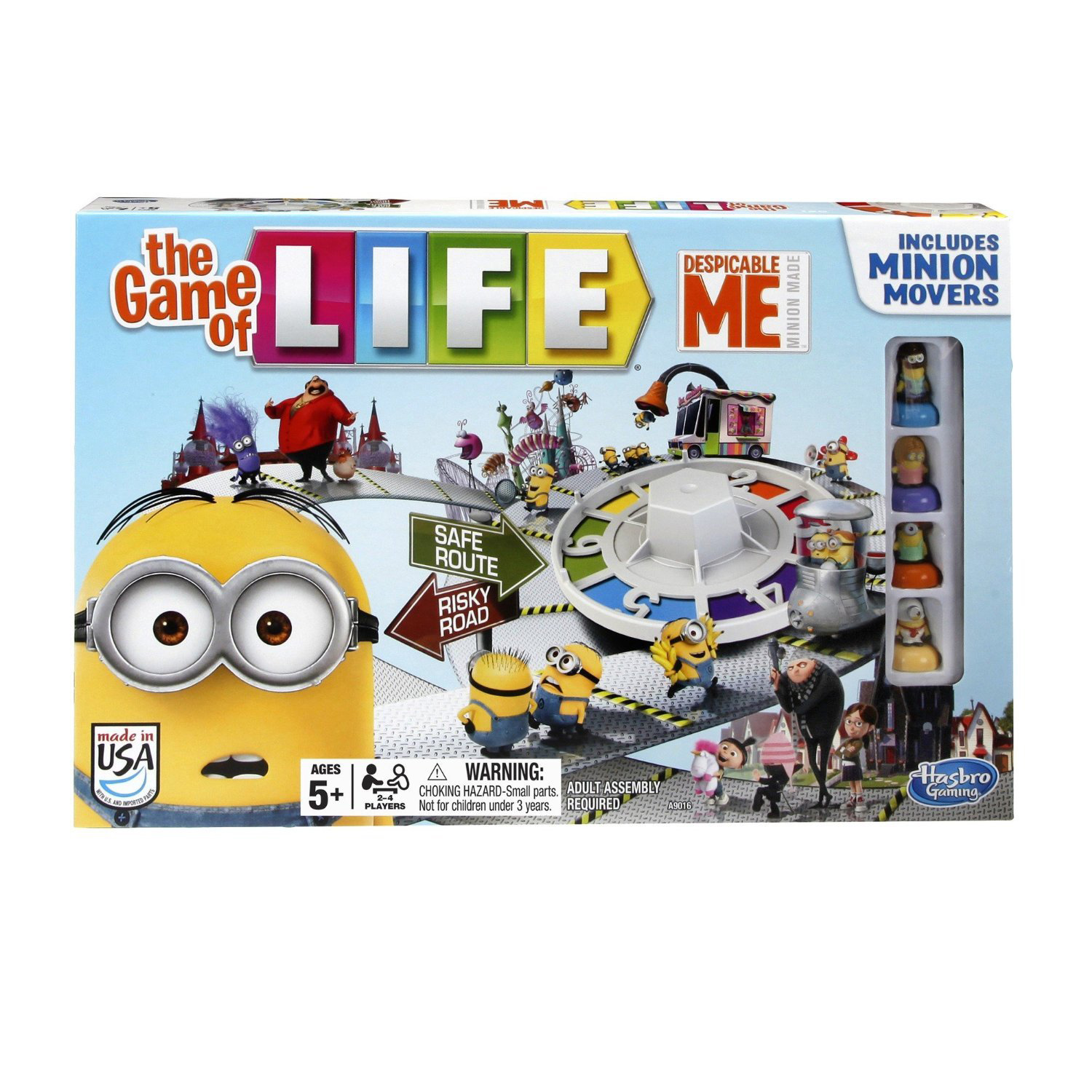 the game of life despicable me instructions