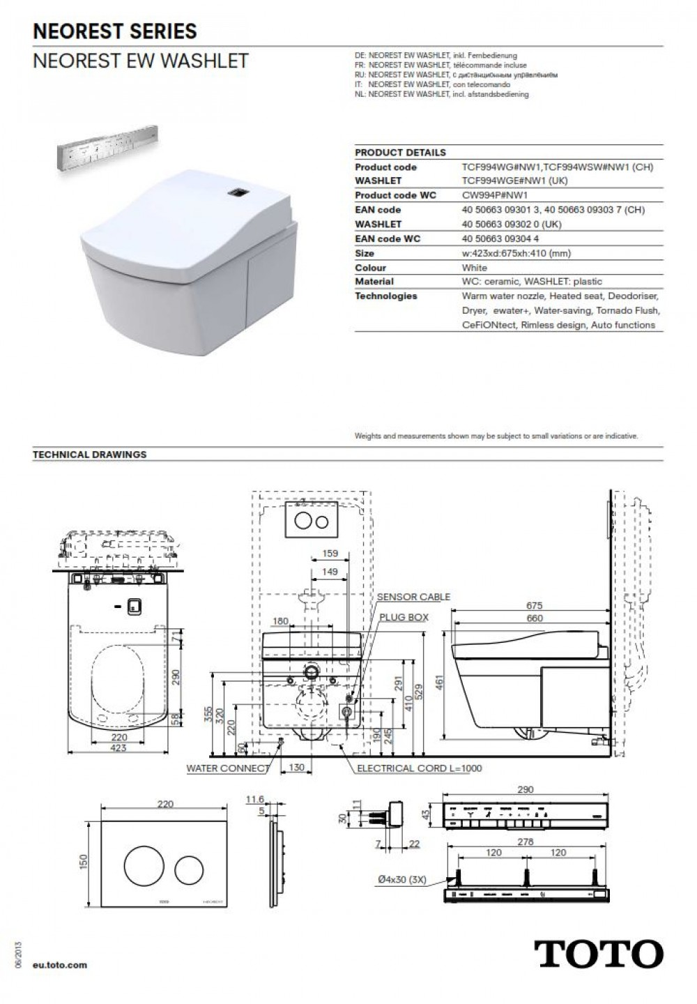 toto washlet c854 instruction manual
