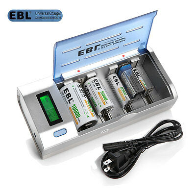 Ebl universal battery charger manual