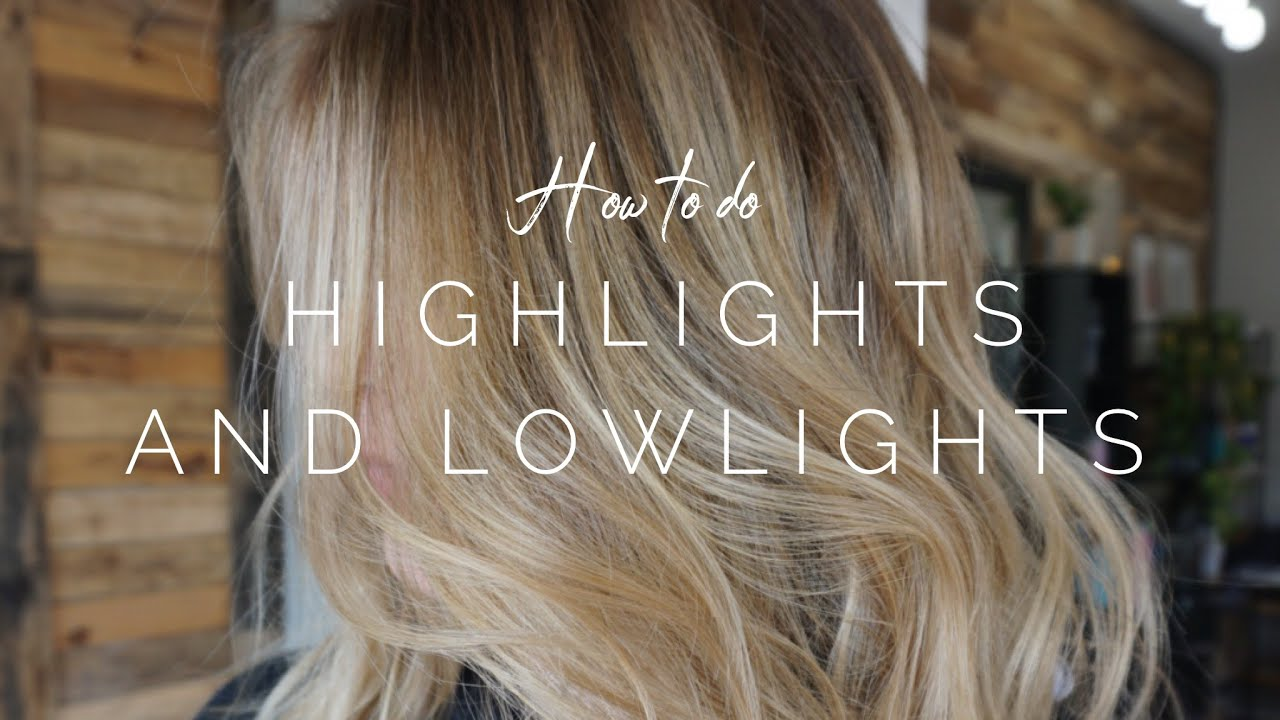 Hair with highlights and lowlights how to draw