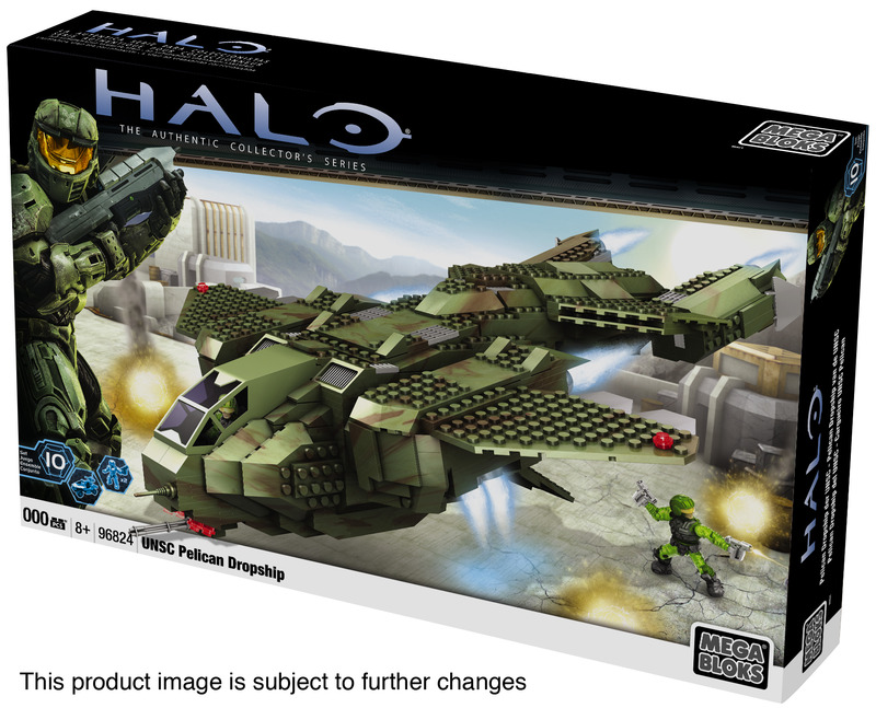 Halo mega bloks pelican dropship instructions