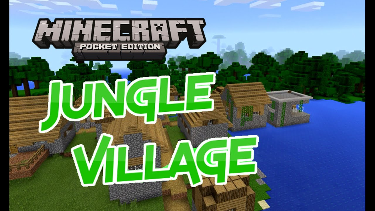Minecraft pe how to get village seed