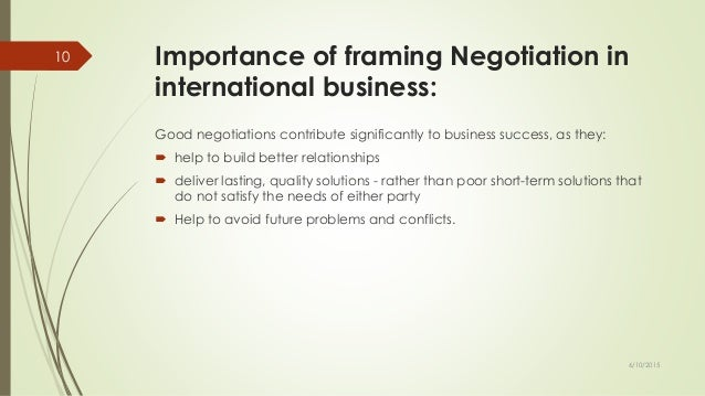 Negotiation in business communication pdf