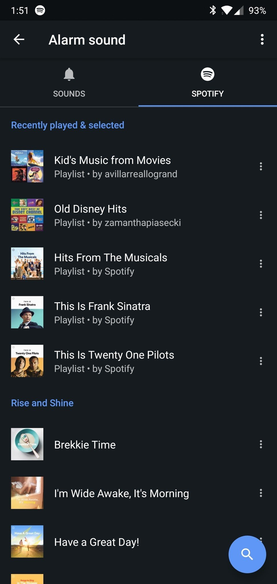 Spotify how to go to previous weeks playlist