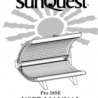 Sunvision tanning bed manuals